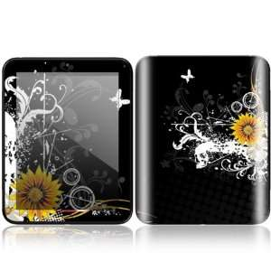Black Skull Design Decorative Skin Cover Decal Sticker for HP TouchPad