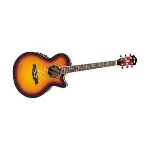 Ibanez AEG10E Cutaway Acoustic Electric Guitar (Vintage