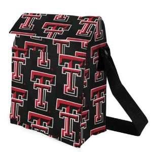 Texas Tech Red Raiders Black Lunch Tote