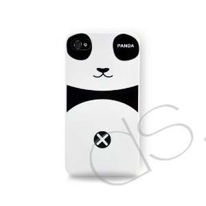 Panda Series iPhone 4 Case   White Cell Phones & Accessories