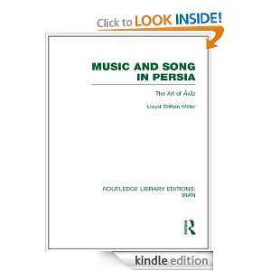 Music and Song in Persia (RLE Iran B) The Art of Avaz Volume 6