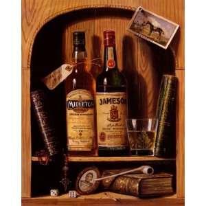 Jameson Irish Whiskey   Poster by Raymond Campbell (18x22