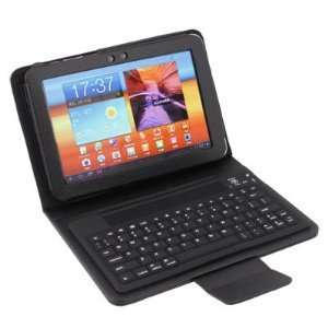 Keyboard + Leather Case Stand for Samsung Galaxy Tab 8.9 Computers