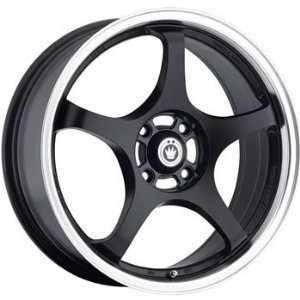 Konig Starlite 17x7 Black Wheel / Rim 5x100 with a 40mm Offset and a
