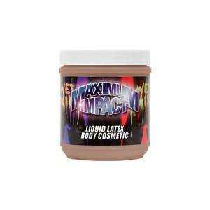 Liquid Latex Body Paint   16 oz Chocolate