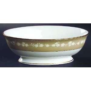 Lenox China Bellina Gold Trim 9 Oval Vegetable Bowl, Fine