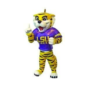 State LSU Tigers NCAA Resin Mascot Ornament: Sports & Outdoors