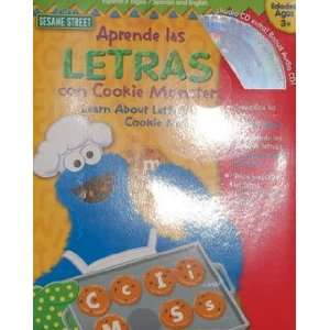 Las Letras Con Cookie Monster/ Learn About Letters With Cookie Monster