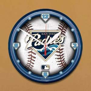 San Diego Padres Baseball Wall Clock