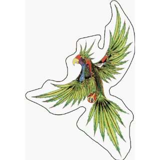 Weed Bird with Pot Leaf Wings   Large   Hidden Pipe, Lighter and More
