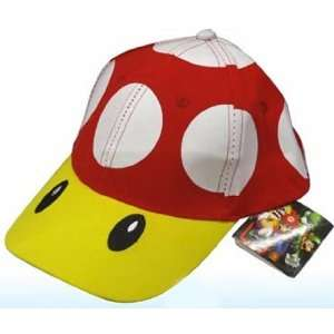 Super Mario Bros Red Mushroom Baseball Hat Toys & Games