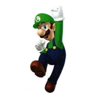 Luigi in Super Mario Bros Marios fraternal twin brother Heat Iron On