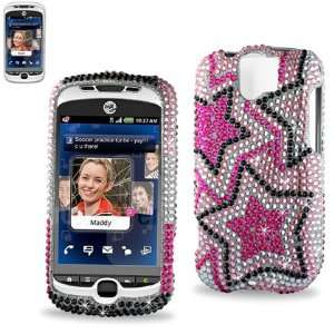 Slide Espresso T mobile   Pink star pattern Cell Phones & Accessories