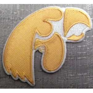 NCAA Iowa HAWKEYES Logo Embroidered PATCH: Everything Else
