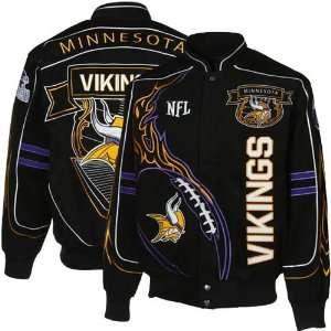 NFL Minnesota Vikings Big & Tall On Fire Jacket 3XL
