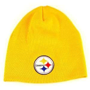 NFL Pittsburgh Steelers Gold Classic Knit Beanie Sports