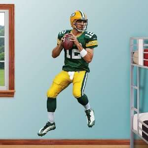 NFL Aaron Rodgers Vinyl Wall Graphic Decal Sticker Poster