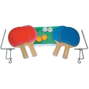 Olympia Sports 4 Player Table Tennis Set