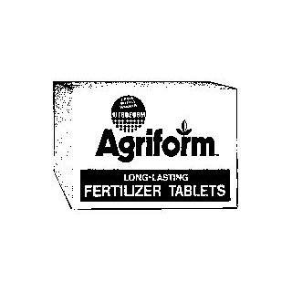 Scotts Agriform Fertilizer Tablets 10 Gram 20 10 5 2 Year Release 1000