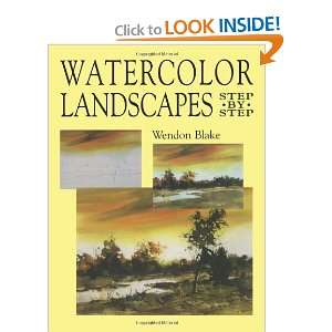Watercolor Landscapes Step by Step (Dover Art Instruction