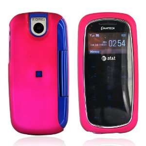 Pantech Impact P7000 Rubberized Hard Case PINK Cell Phones