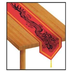 Printed Asian Table Runner Party Accessory (1 count