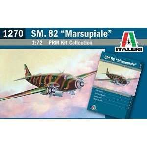 72 SM82 Marsupiale Transport Aircraft (Plastic Models) Toys & Games