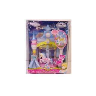 Disney Princess Enchanted Playground Castle Carousel Toys & Games