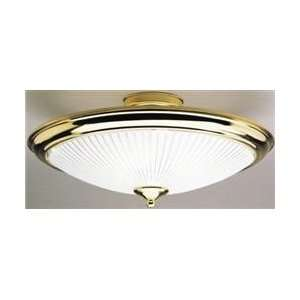 Westinghouse 66267 Polished Brass Single Light Ceiling