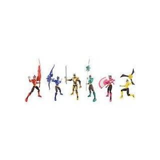 Power Ranger Samurai 4 Samurai Action Figure Set 5 pack