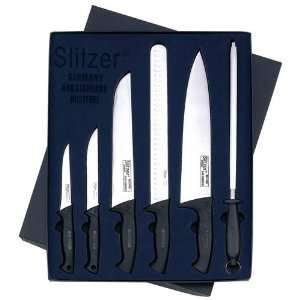 Slitzer Germany 6pc Professional Knife Set Ergonomically