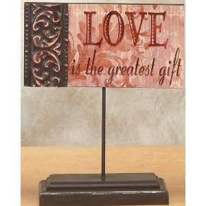 Inspirational Stand Collectible Love Decoration Decor Table Collection