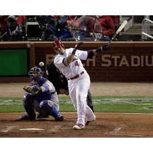 Yadier Molina, St. Louis Cardinals, World Series Game 7, 10/28/2011