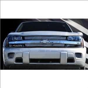 SES Trims Chrome Billet Upper Grille 02 06 Chevrolet