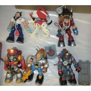 Lot of Fisher Price Talking Rescue Heroes (Loose): Toys & Games