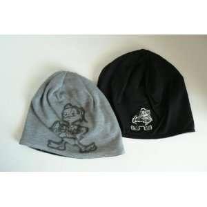 NFL Cleveland Browns Retro Sport Reversible Beanie Hat Cap