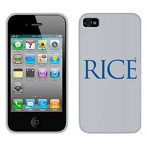 Rice University on AT&T iPhone 4 Case by Coveroo