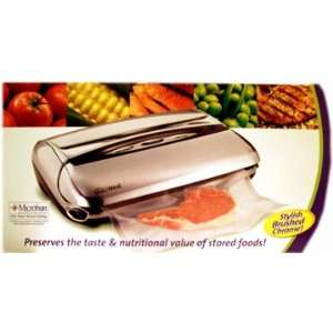 Rival VS120 CD Seal A Meal Vacuum Food Sealer with Soft Seal, Brushed