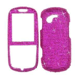 Samsung T479 / Gravity 3 Solid Hot Pink Full Diamond   Faceplate