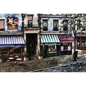 Croissants and Coffee Jigsaw Puzzle 1000pc Toys & Games