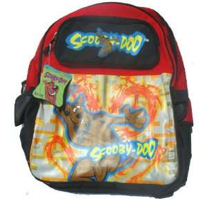 Scooby Doo Large Black & Red School Backpack  Toys & Games