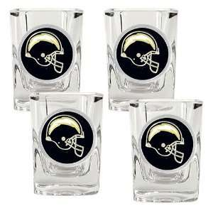 San Diego Chargers NFL 4pc Square Shot Glass Set Sports
