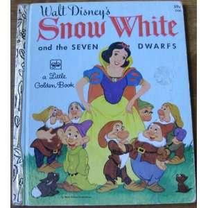 Snow White and the Seven Dwarfs Walt Disney Company Books