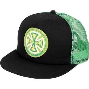 Independent Cc Truck Co Hat Adjustable Black Kelly Green Skate Hats