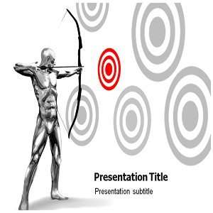 Bulls Eye Powerpoint Templates   Slides on Bulls Eye Templates   Bulls