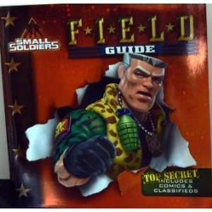 SMALL SOLDIERS   Field Guide book Terry Collins, Andrew Pepoy Toys