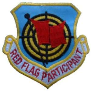 U.S. Air Force Red Flag Participant Patch 3 Patio, Lawn