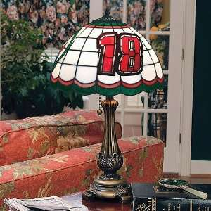 18 Bobby Labonte Stained Glass Tiffany Table Lamp  Sports