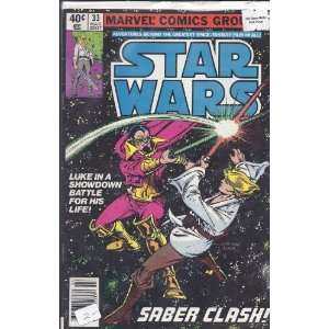 Star Wars (Vol. 1, No. 33) Marvel Comics Group  Books