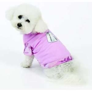 Dog Sweaters   FH DOGTAG TSHIRT PINK SM